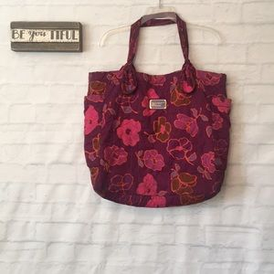 Marc by Marc Jacobs nylon large floral tote bag